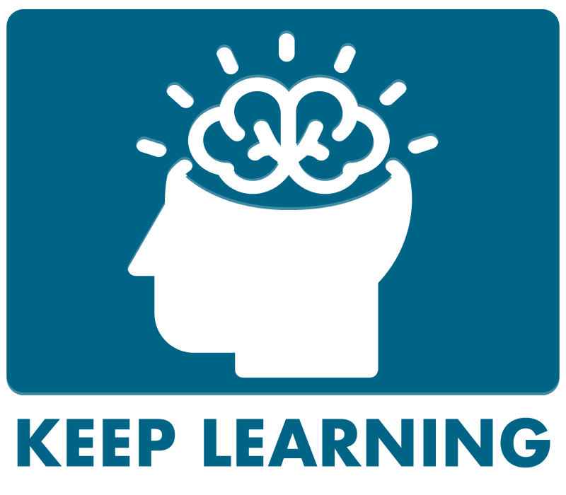 Keep Learning Button