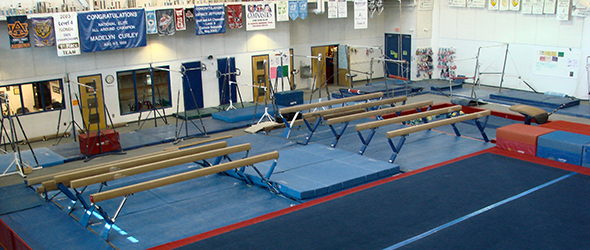 Gymnastic facility at Trousdale
